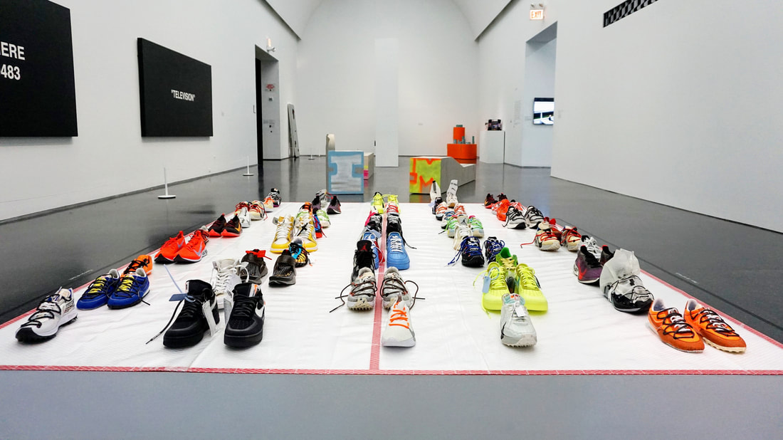 Virgil Abloh Figures of Speech Exhibition at the MCA Chicago